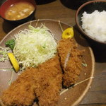 75054918 - 特ヒレカツ定食(2,000円)