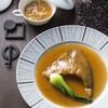 中国旬彩SORA - 料理写真:(上)SORA名物 フカヒレのあんかけ茶碗蒸し (下)上海風白湯醤油のフカヒレの姿煮