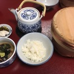 割烹よし田 - 鯛茶漬け(1080円)