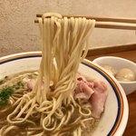 ラーメン暁 - 「煮干ラーメン」(800円)