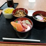 勘太そば - 穴子と満腹丼セットだったか?(880円)