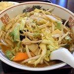 麗人飯店 - 野菜ラーメン