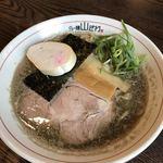 らー麺 山さわ - 濃い煮干 750円