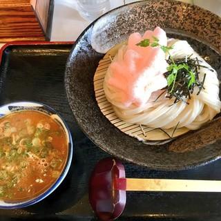 荒木伝次郎 - 料理写真:濃厚海老味噌つけ麺