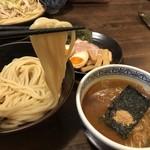 三田製麺所 - リフトして三田 ( *´艸`)クスクス