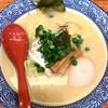 友 - 料理写真:半熟煮玉子濃厚鶏塩らーめん