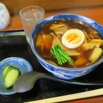 丸美食堂 - 料理写真:あんかけうどん(¥750)