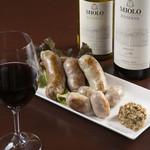 シンプルキッチン - ワインとの相性ぴったりブラジル生ソーセージ