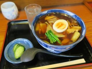 丸美食堂 - あんかけうどん(¥750)