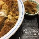 かつや - カツ丼梅(並)(2017.10現在)