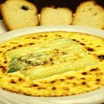 だんだん茶屋 - アスパラのチーズ焼 680円