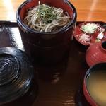 そば処 庵兵衛 - 割子蕎麦と炊き込みご飯の定食