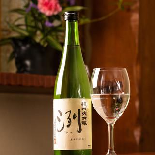 【ドリンク】和食に合う種類豊富な日本酒をご用意!