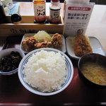 町田木曽食堂 - 全部で620円