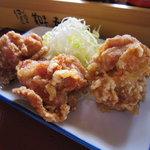 町田木曽食堂 - 鶏肉のからあげ 189円