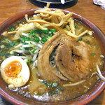 麺屋 一本気 - みそらー麺・めんま(大盛)(2011年4月)