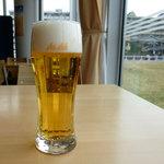 kaferesutorankihada - ビールを飲みました。^^