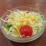伊豆高原ケニーズハウスカフェ - ランチのサラダ