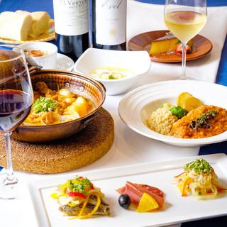 ポルトガル料理って美味しい!飲み放題プランあります♪