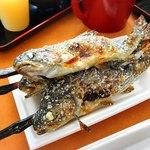Seiryuunosato - ニジマスの塩焼き