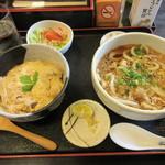 飯野山 - 料理写真:小親子丼セット 900円