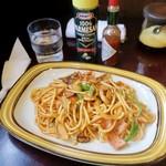 赤い靴 - 料理写真:「スパゲッティセット・ナポリ」(800円)
