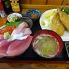 浜めし - 料理写真:三色丼&イワシフライ