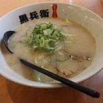 黒兵衛 - 料理写真:ラーメン(620円、斜め上から)