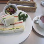日比谷松本楼 - 料理写真:サンドウィッチモーニングサンドウィッチ