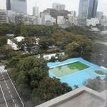 東京プリンスホテル - 夏賑わっていたプール
