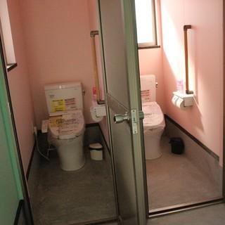 牡蠣小屋住吉丸トイレ新設致しました♪