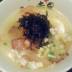 らーめんサッポロ 赤星 - 塩チャーシュー麺700円