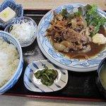まさき - 料理写真:豚の生姜焼き