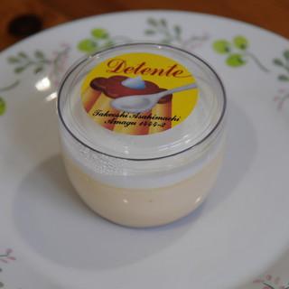 菓子職人の小屋デタント - 料理写真:dプリン