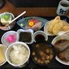 居酒屋観吉 - 料理写真:ランチ850円むつの煮付け、天ぷらお刺身3種盛り美味しい