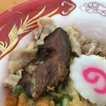 75080519 - 柔らかい牛チャーシュー(大つけ麺博 大感謝祭)