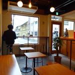 ユニゾン・テイラー・コーヒー・アンド・ビール - 店内