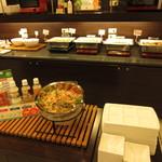 スーパーホテル - 有機野菜は産地表示がされています。