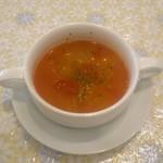 スパルタ - ランチセットのスープ