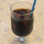 スパルタ - ランチセットのドリンク(アイスコーヒー)