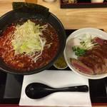 ドンブリ アサダ - ビフカツ丼セット<ミニ丼セット>