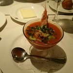 75082440 - 冷製 海老のスープ