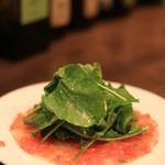 フラテッロ - 真鯛のカルパッチョ
