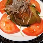 中国料理 桃翠 -  茄子の冷製怪味ソース。