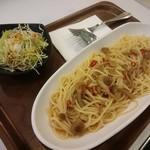 ミュージアムカフェ坂 - パスタセット¥525(一般)