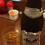 曽さんの店 - 瓶ビール 410円