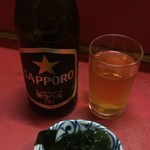 どさん子大将 - 瓶ビール 450円