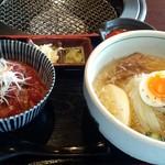 75084281 - 「ミニ丼&ミニ冷麺ランチ」