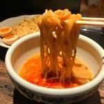 らーめん山頭火 - 限定つけ麺カレー味