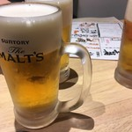 75087094 - 生ビール  サントリーザモルツ